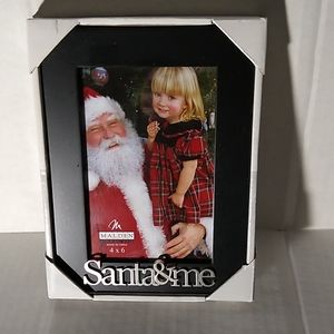 New Santa & Me 4x6 Picture Frame